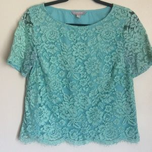 Banana Republic lace top size small